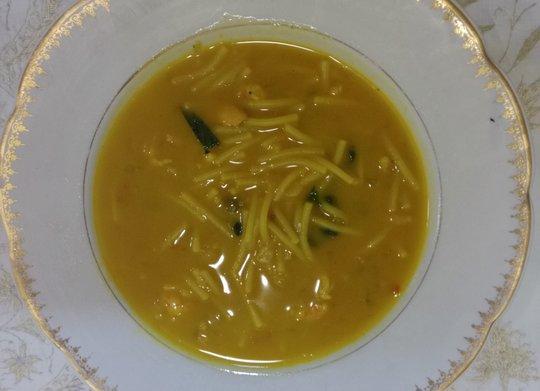 cazuela-de-fideos-malagueña con Mycook