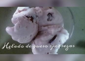 helado-de-queso-y-cerezas