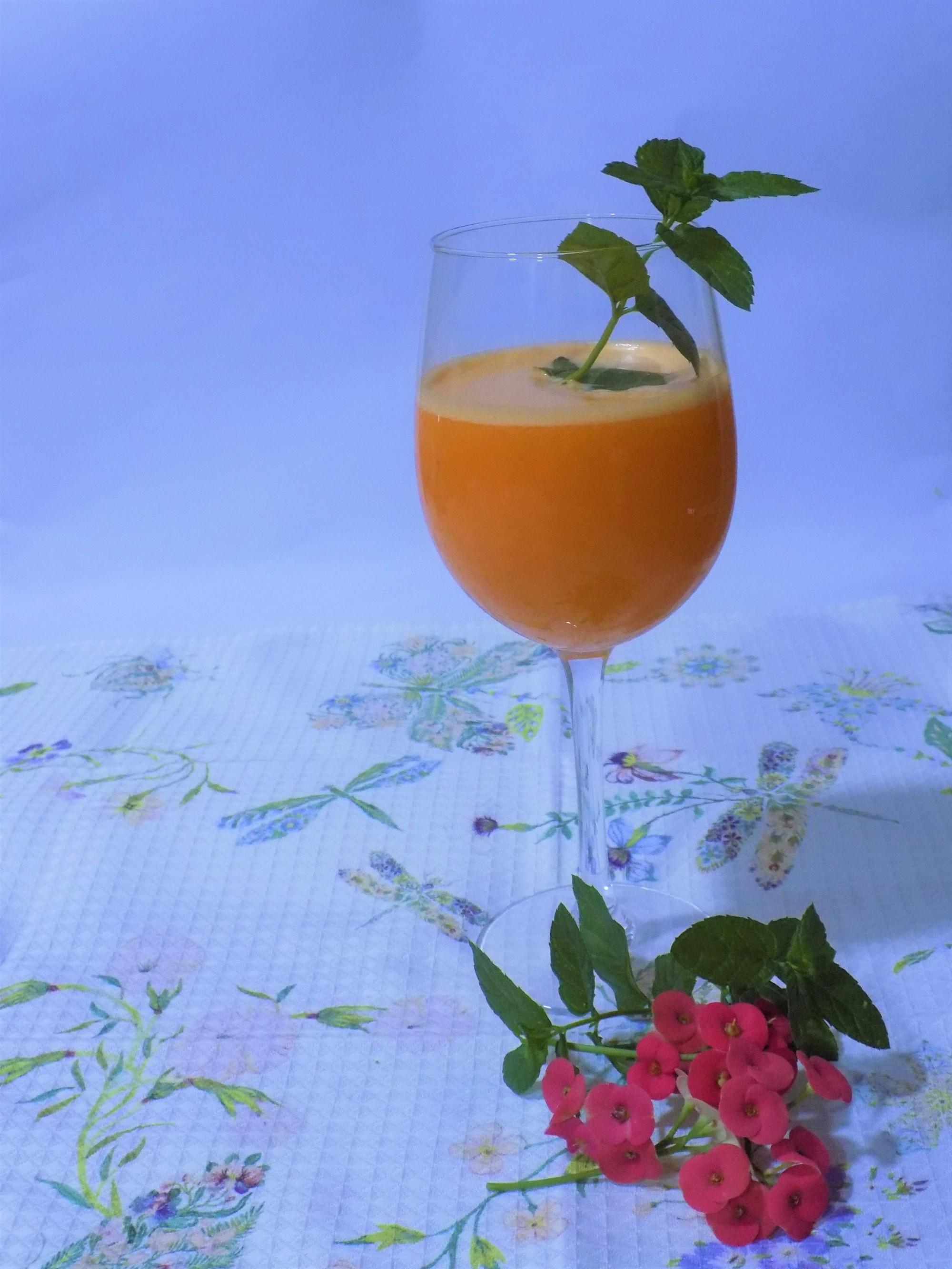batido detox de zanahoria