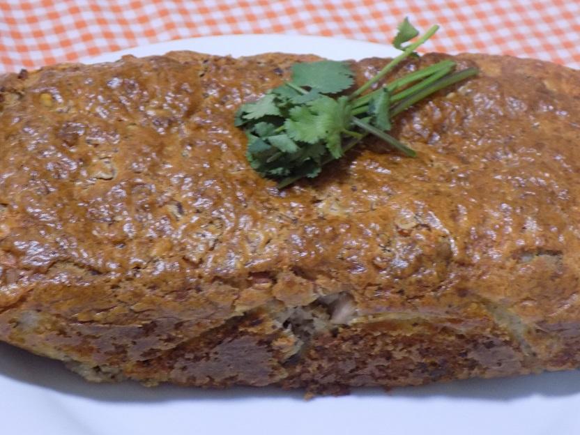 bizcocho de jamón york, queso y nueces con Mycook