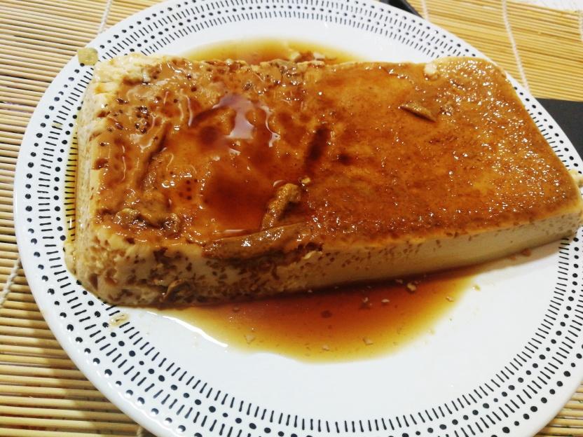 Riquísimo flan de miel preparado con Mycook ,para un postre especial.
