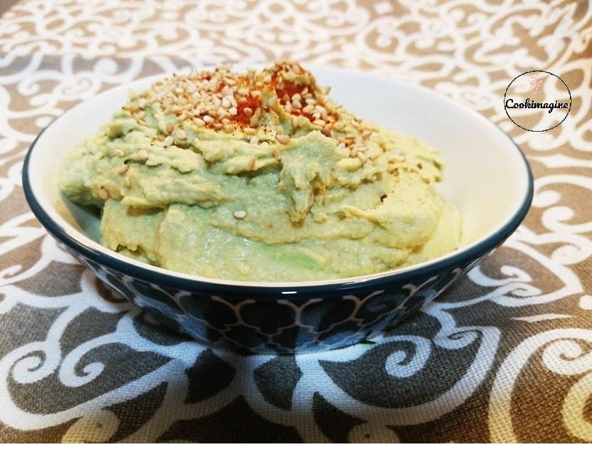Hummus de adamame